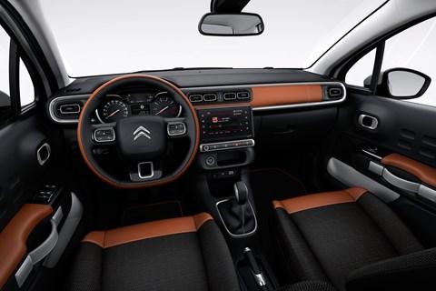 Citroen C3 interior 2016