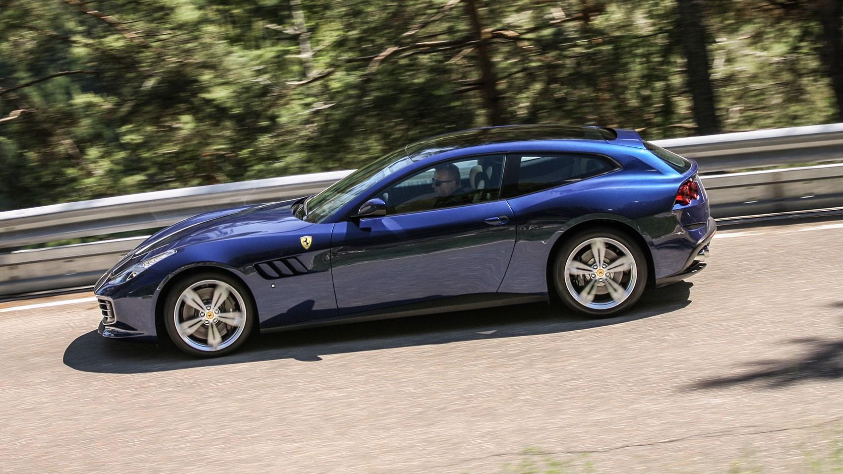 Ferrari F12 Top View >> Ferrari GTC4Lusso (2016) review | CAR Magazine