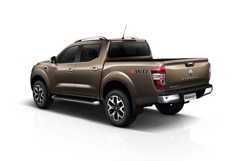 Borrowing hardware from the Nissan Navara