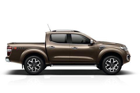 The new Renault Alaskan pick-up