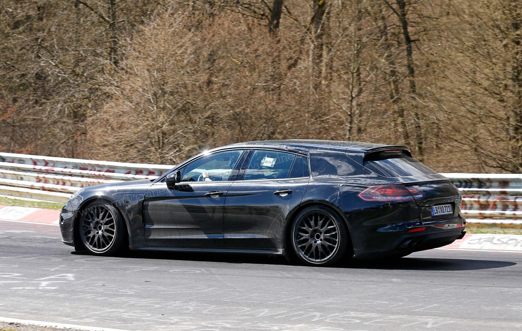 Porsche Panamera Co Company Car