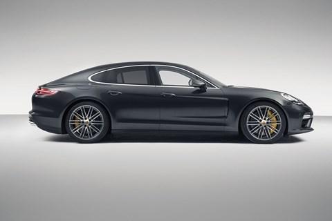 The four-door Porsche Panamera is here