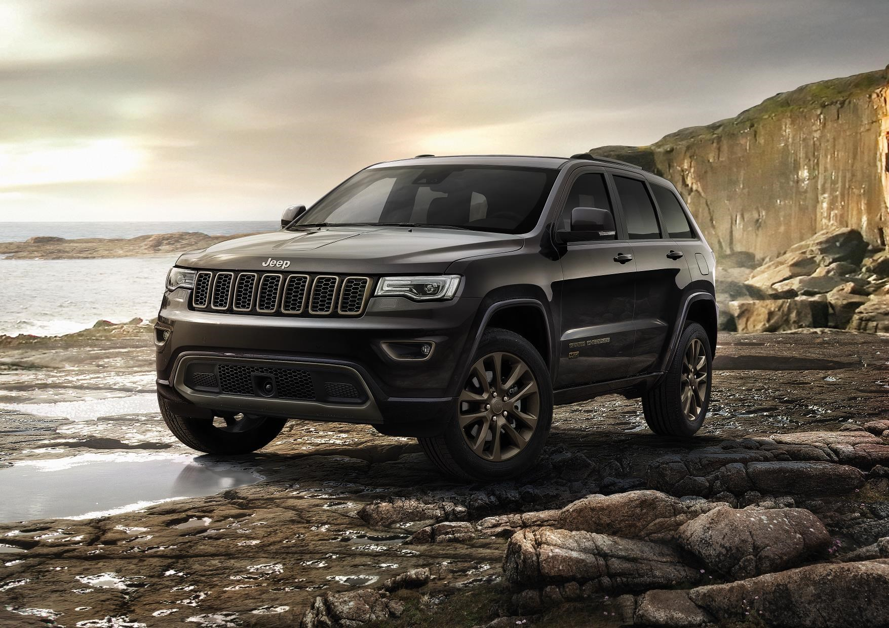 Jeep Spruces Up Grand Cherokee Range For Its 75th Birthday