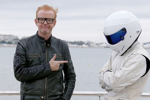 Chris Evans and the Stig (Getty)