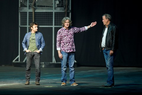 Richard Hammond, James May, Jeremy Clarkson: the old Top Gear trio