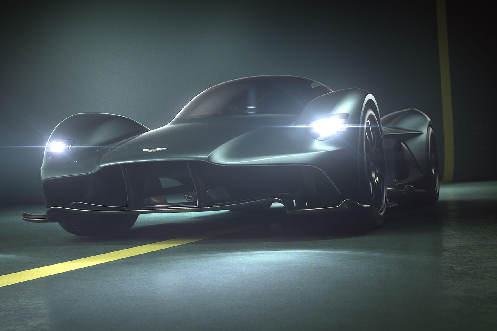 Ride Of The Valkyrie: Aston Martin Reveals Hypercar's