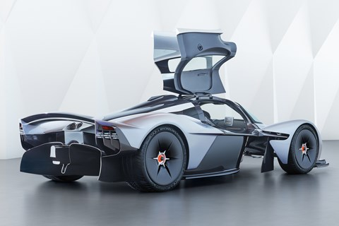 Aston Martin Valkyrie rear quarter