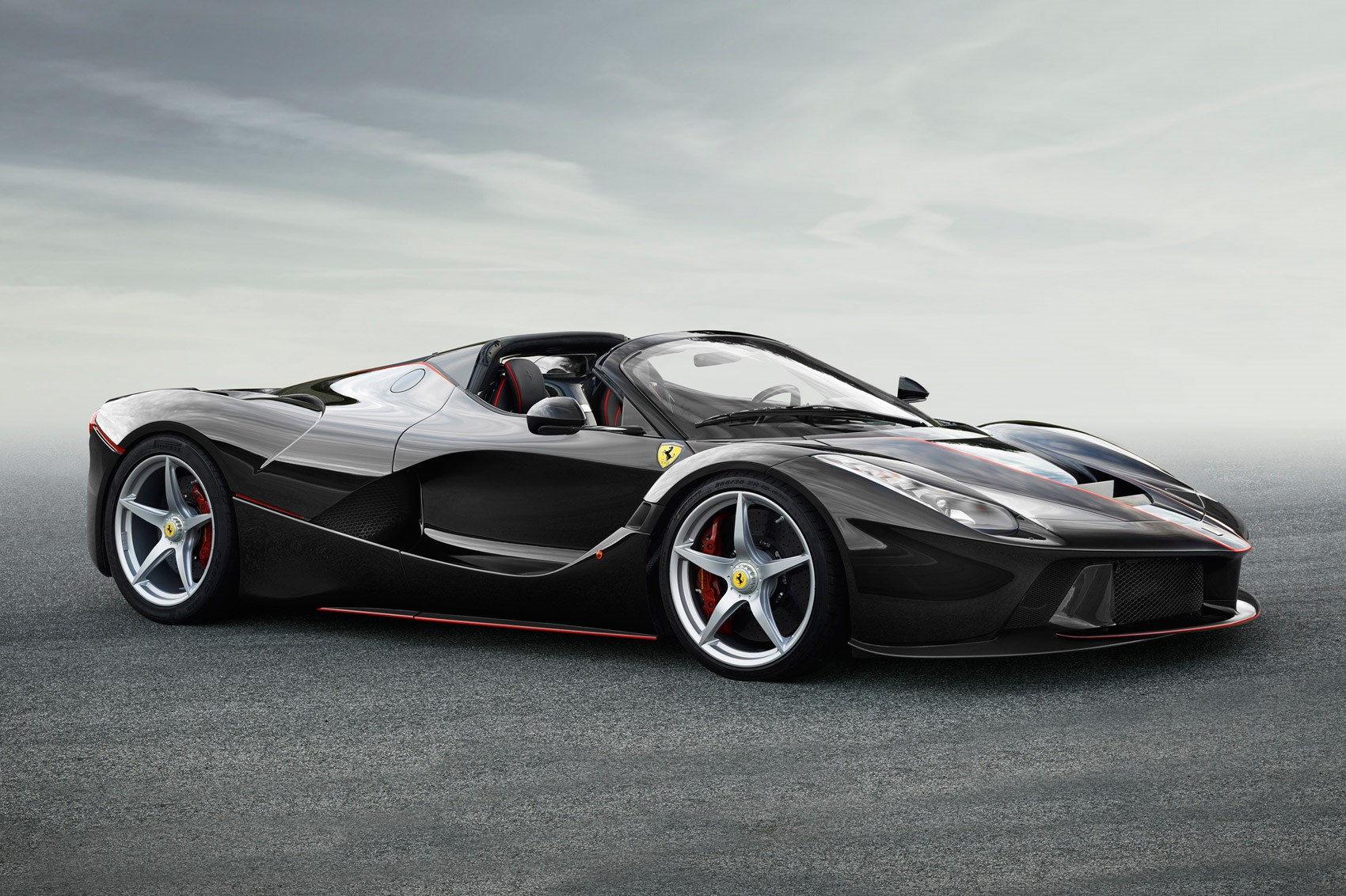 laferrari aperta at paris 2016 details and pictures of the open top laferrari by car magazine. Black Bedroom Furniture Sets. Home Design Ideas