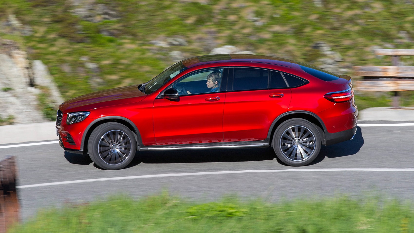 Mercedes benz glc250d amg line coupe 2016 review by car for Mercedes benz england
