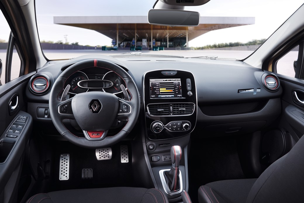 Renaultsport Clio Rs Gets More Lightbulbs And A Fancy Exhaust For