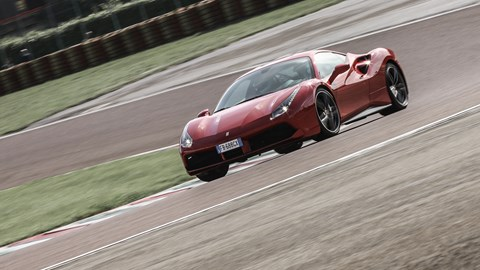 Ferrari 488 at Fiorano