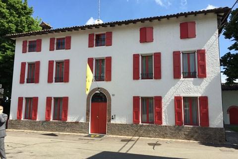 Enzo Ferrari's former quarters at Fiorano
