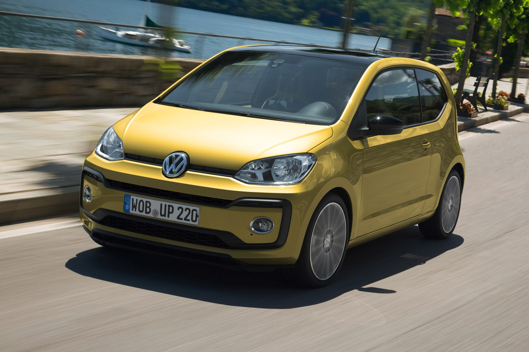 vw up 1 0 tsi 90 2016 review by car magazine. Black Bedroom Furniture Sets. Home Design Ideas