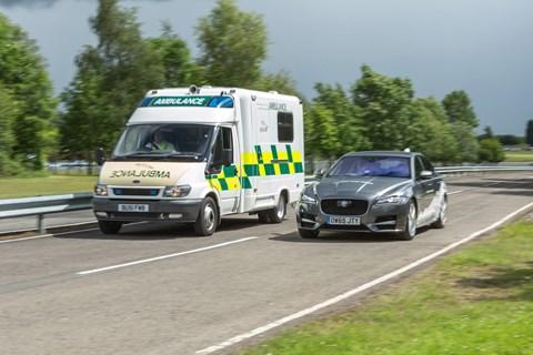 Jaguar safety and communications developments