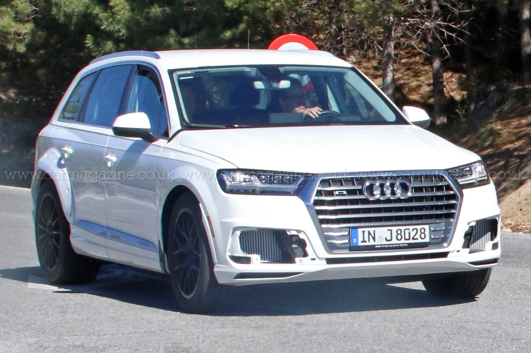 It S A Q8 Mate First Spy Shots Of Audi S New Luxury Suv