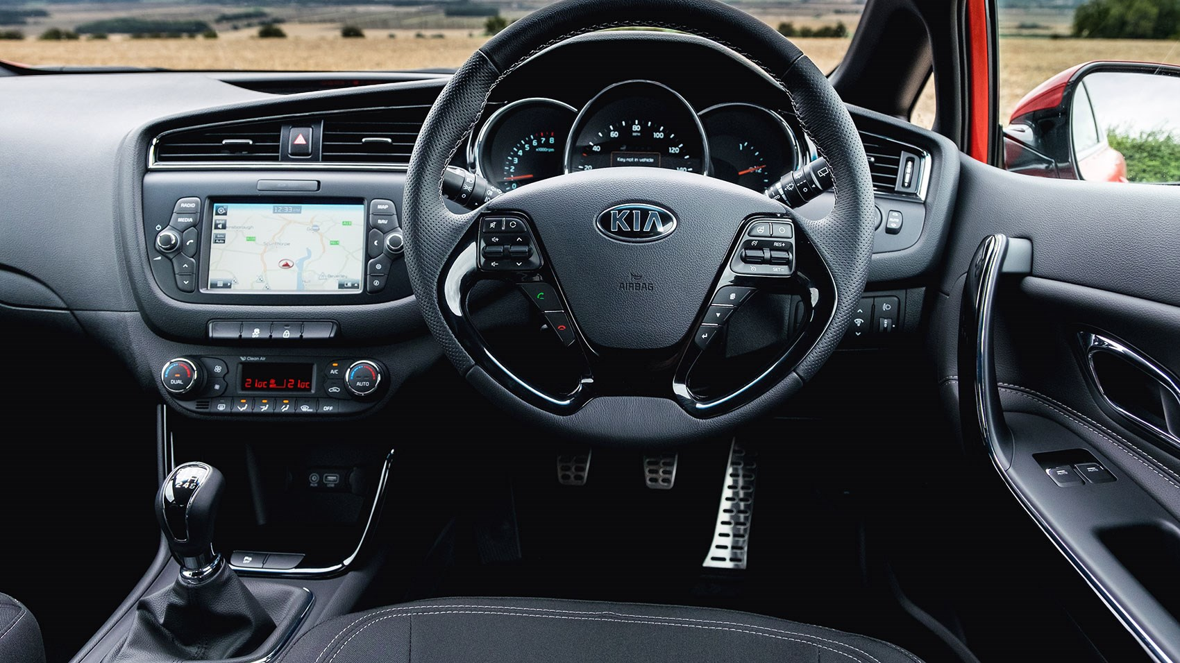 kia proceed 1 0 t gdi gt line 2016 review by car magazine. Black Bedroom Furniture Sets. Home Design Ideas