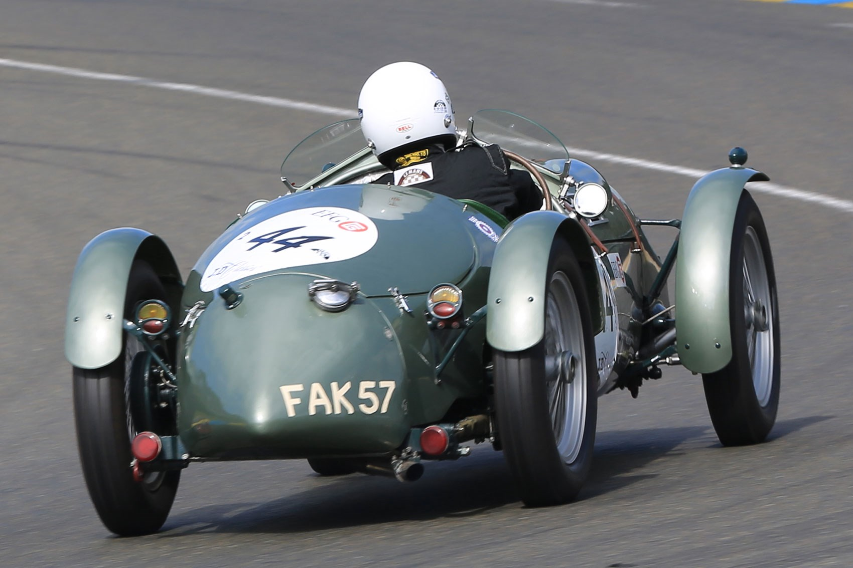 How we ended up racing an old MG sports car at Le Mans by CAR Magazine