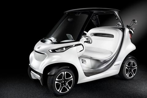 Mercedes golf kart