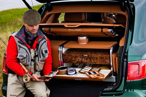 2016 Bentley Bentayga Fly Fishing