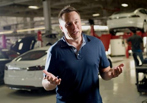 Elon Musk, boss of Tesla