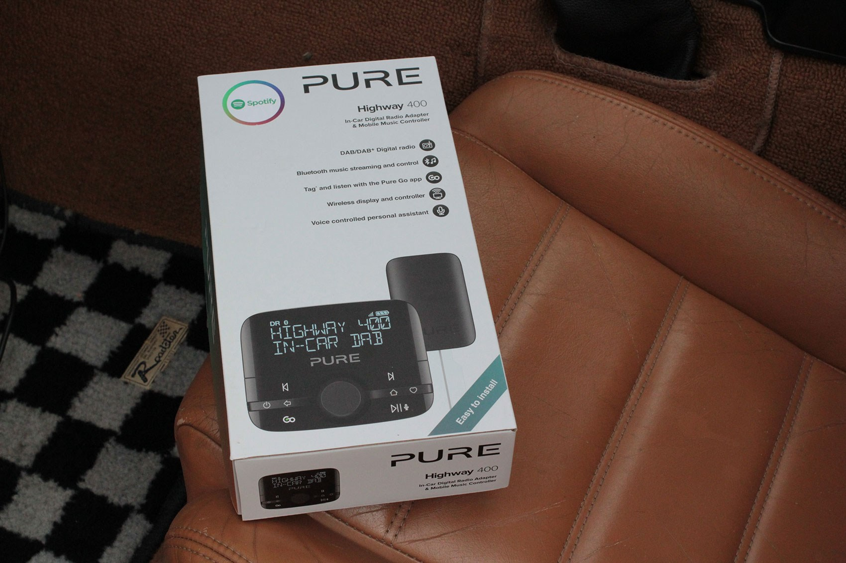 Pure Highway 400 In Car Dab And Bluetooth Music Adaptor