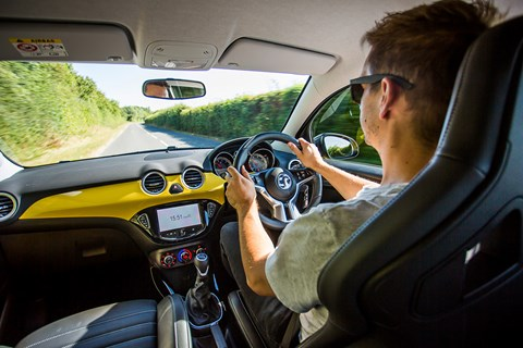Vauxhall Adam S driving position