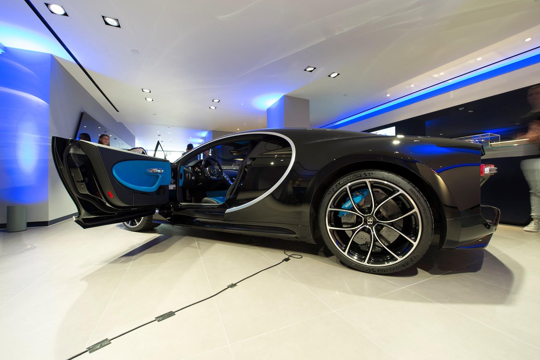 Bugatti showroom london