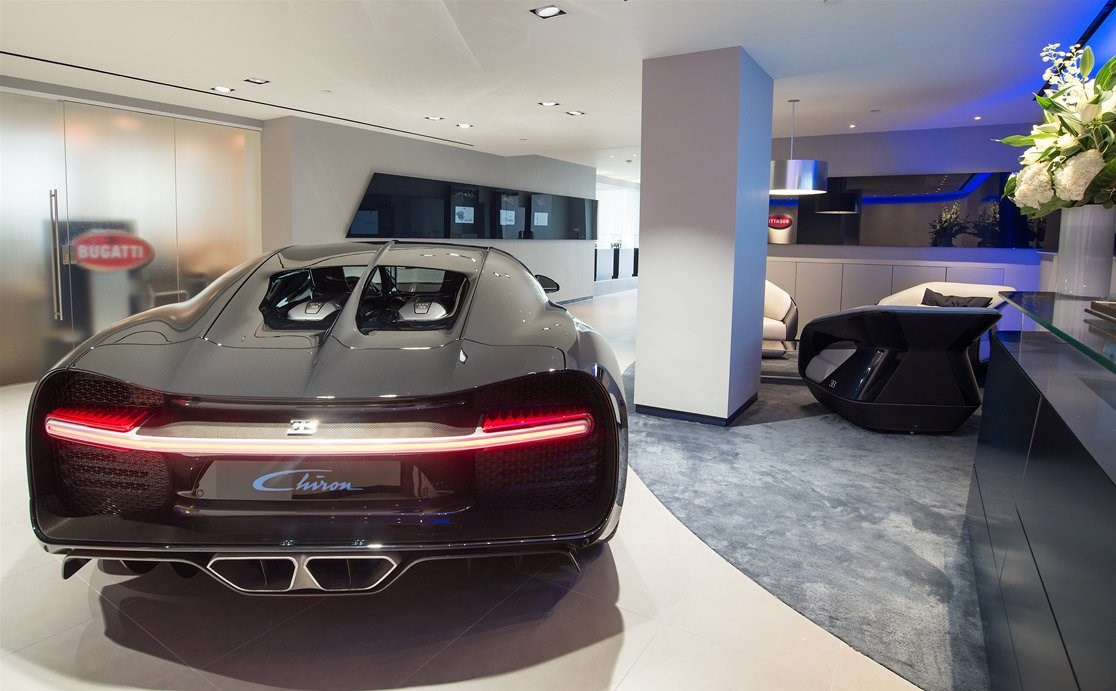 Suzuki Car Dealership >> Not your average car showroom: Bugatti opens flagship store in London | CAR Magazine