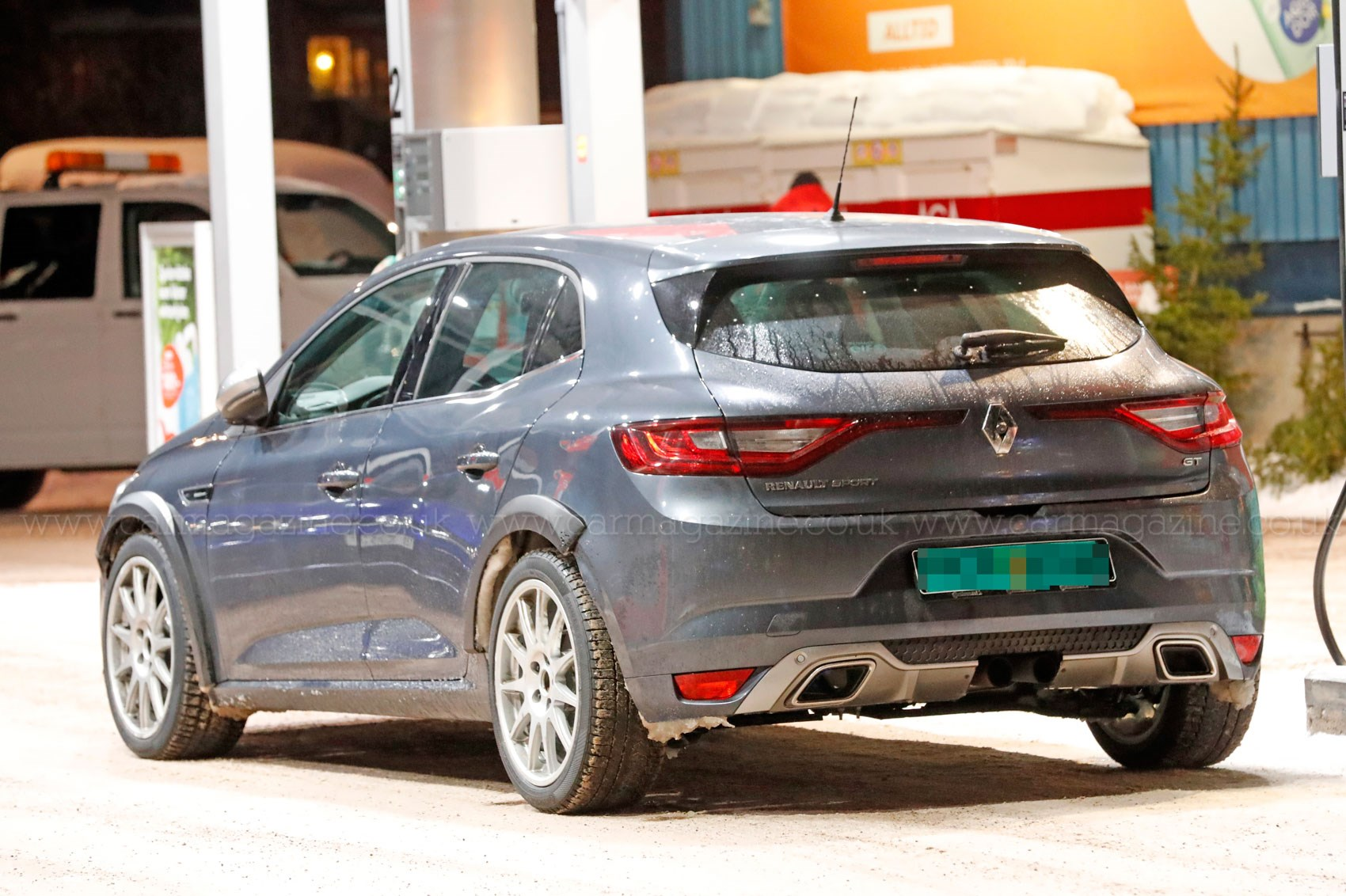 We See You Renault Shakin That Rs New 2017 Megane Renault Sport