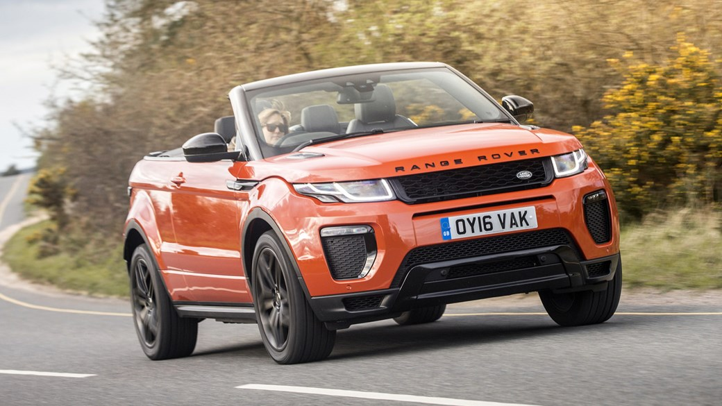 Range Rover Evoque Convertible 2 0 Td4 Hse Dynamic 2016 Uk Review