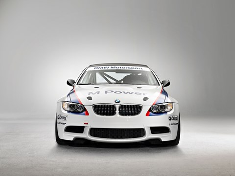 The outgoing BMW M3 GT4