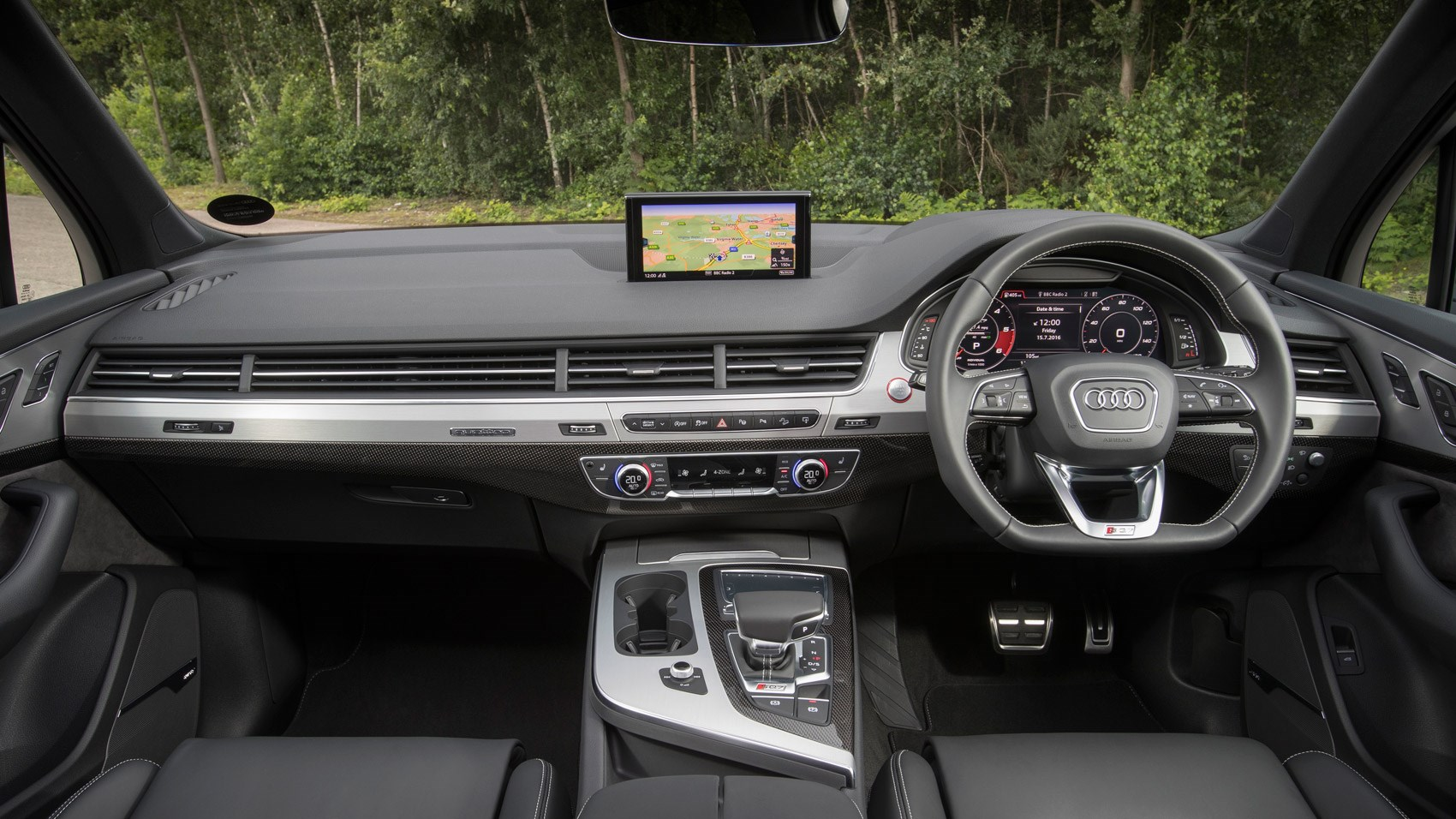 2018 Audi SQ7 TDI: Specs, Design, Price >> New Audi Sq7 Review Physics Bending Fun With Cutting Edge