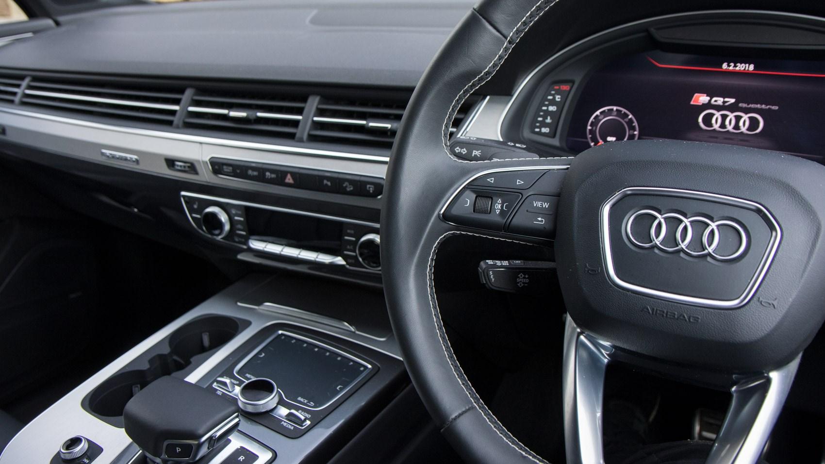 Audi audi sq7 tdi : New Audi SQ7 review: physics-bending fun with cutting edge-tech by ...