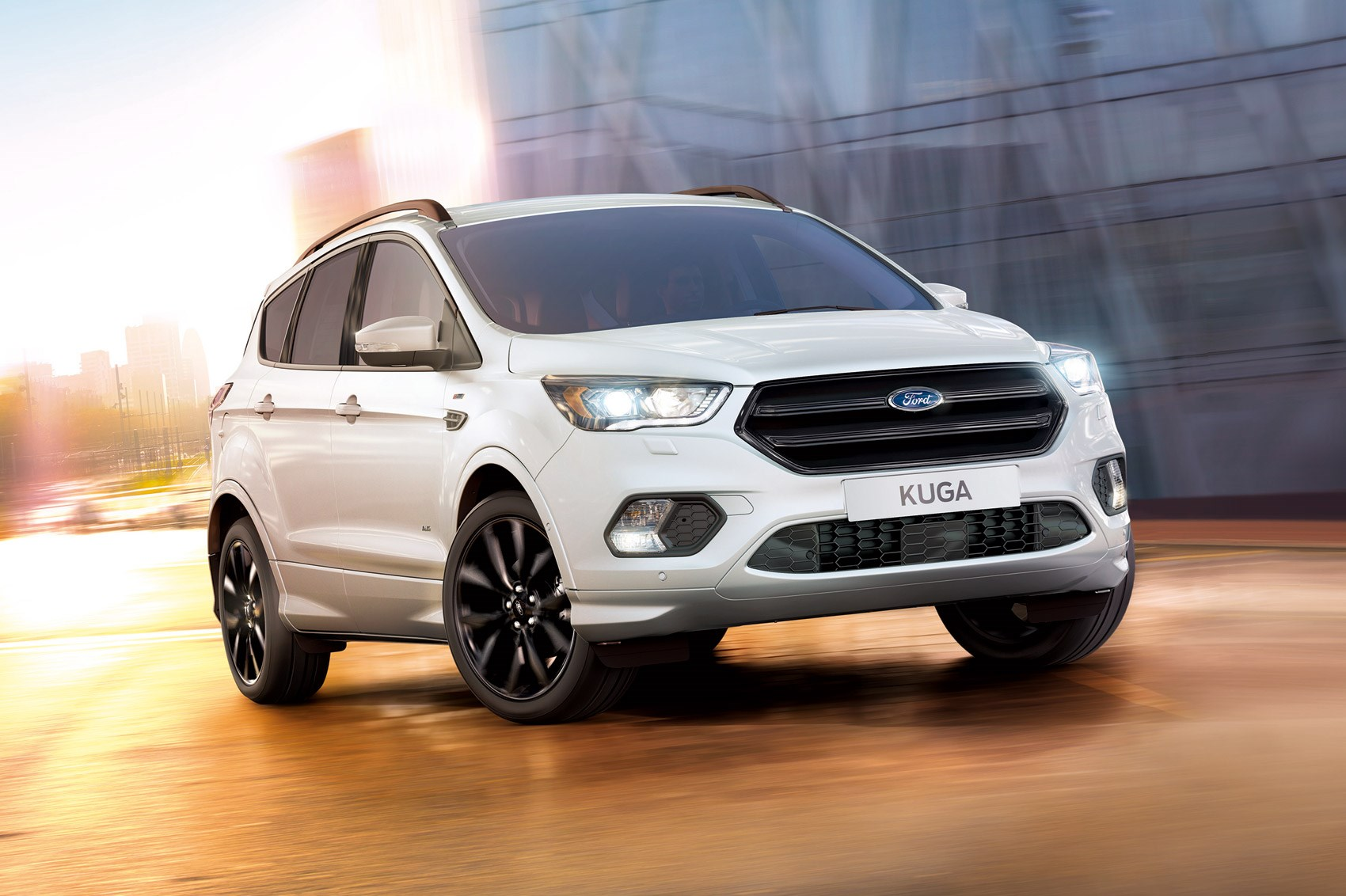 kuga shapes up new ford kuga st line unveiled car magazine. Black Bedroom Furniture Sets. Home Design Ideas