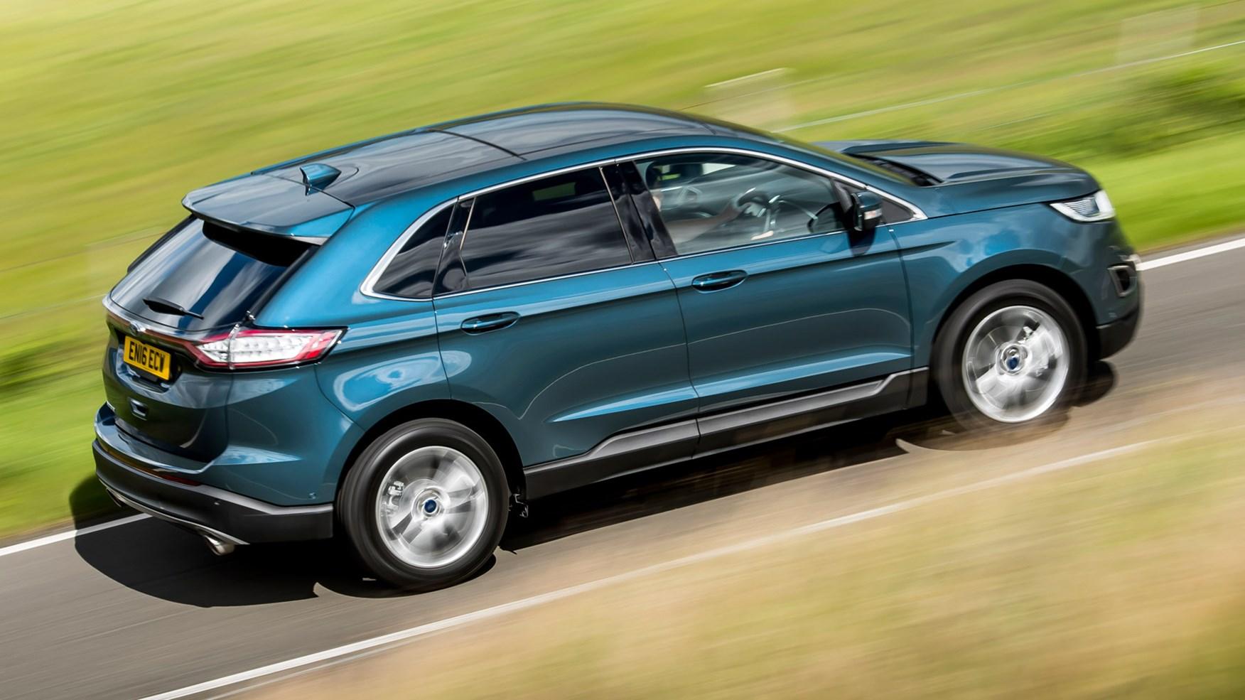 Ford Edge 2017 Blue