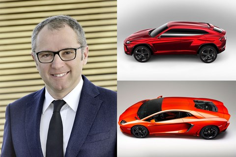 The new boss at Lamborghini: Stefano Domenicali
