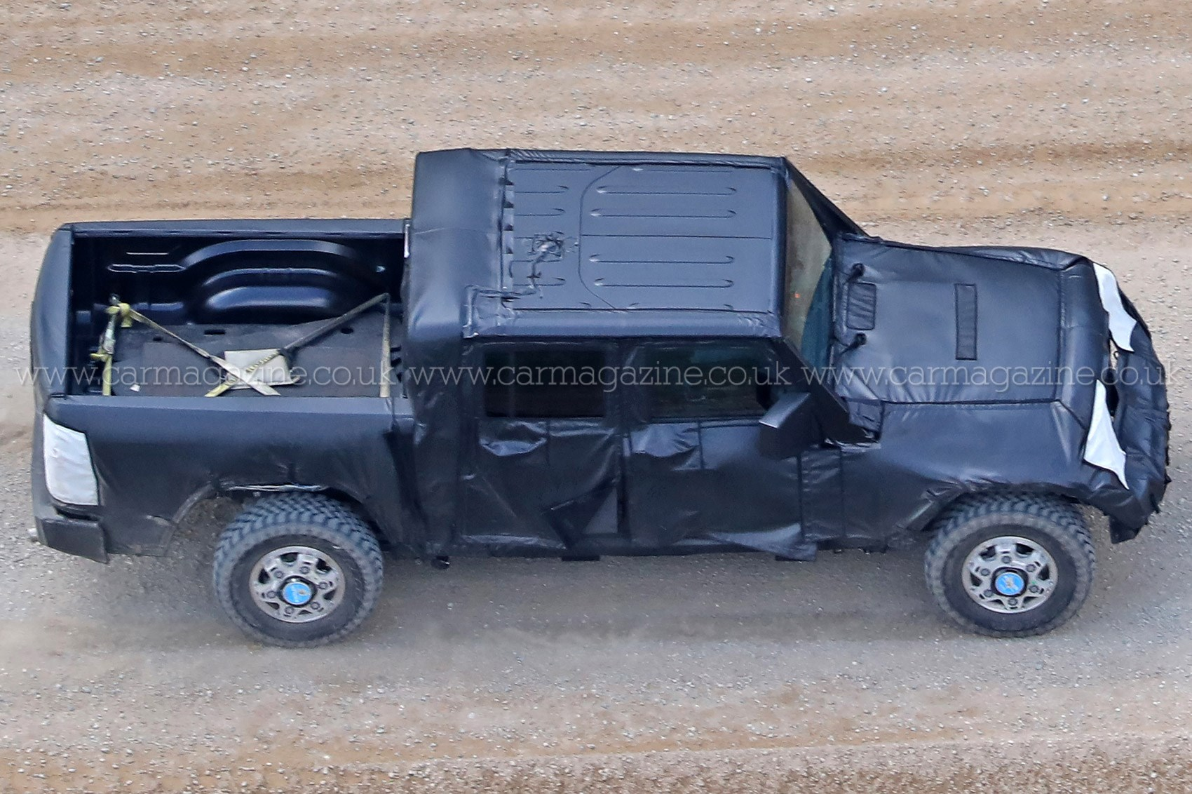 ... 2018 Jeep Wrangler Pick Up Spy Shots ...