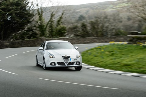 The existing Alfa Romeo Giulietta