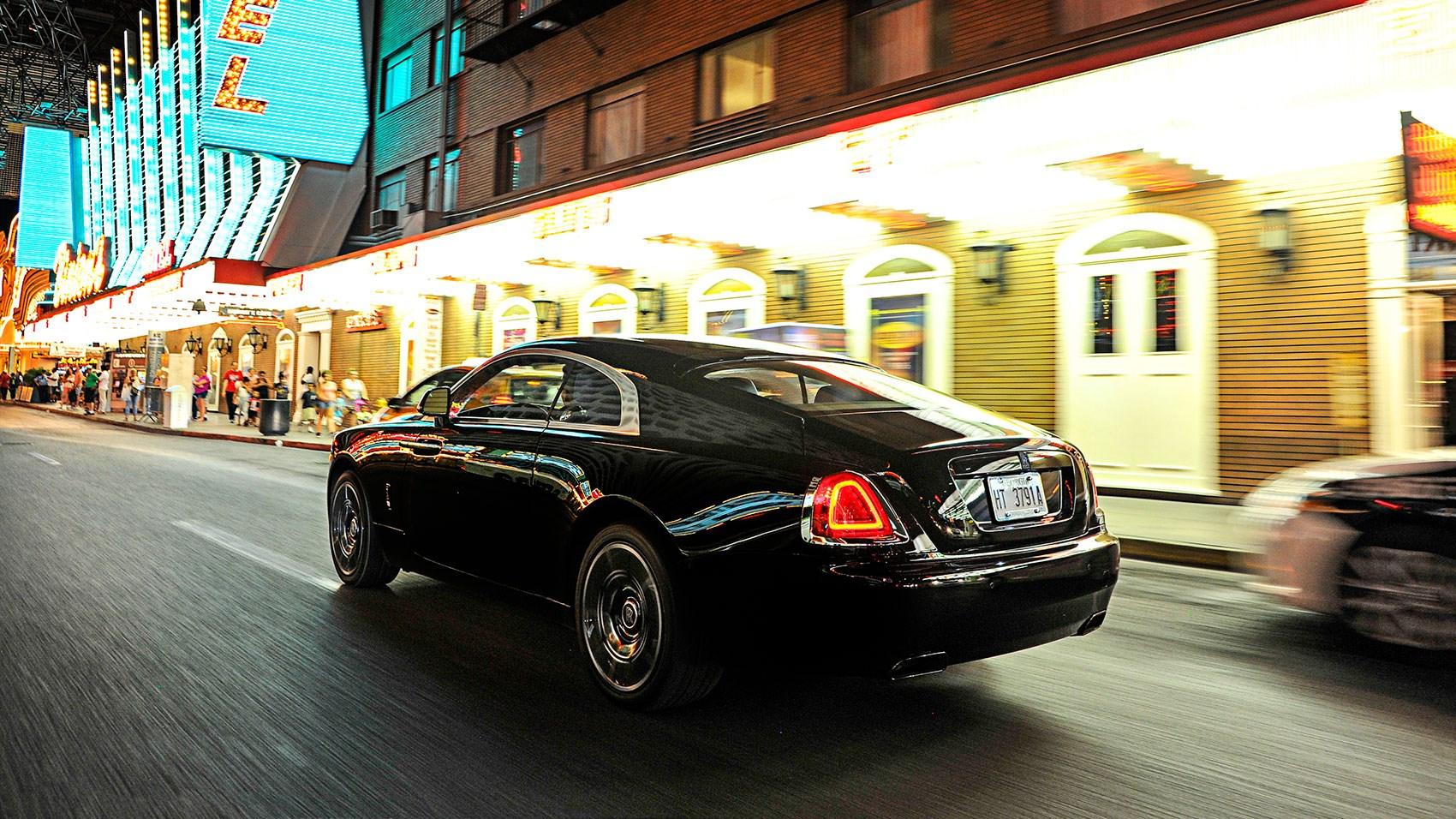 Rolls Royce Wraith Black Badge 2016 Review Car Magazine