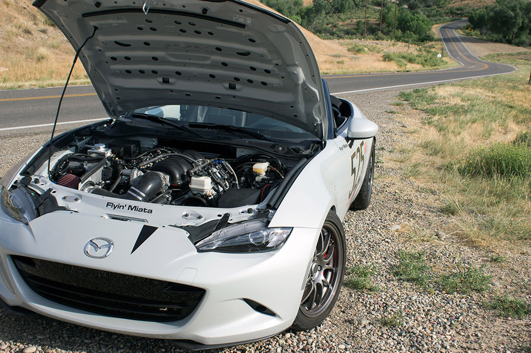 These go up to eleven: Flyin' Miata launches ND Mazda MX-5 V8 ...