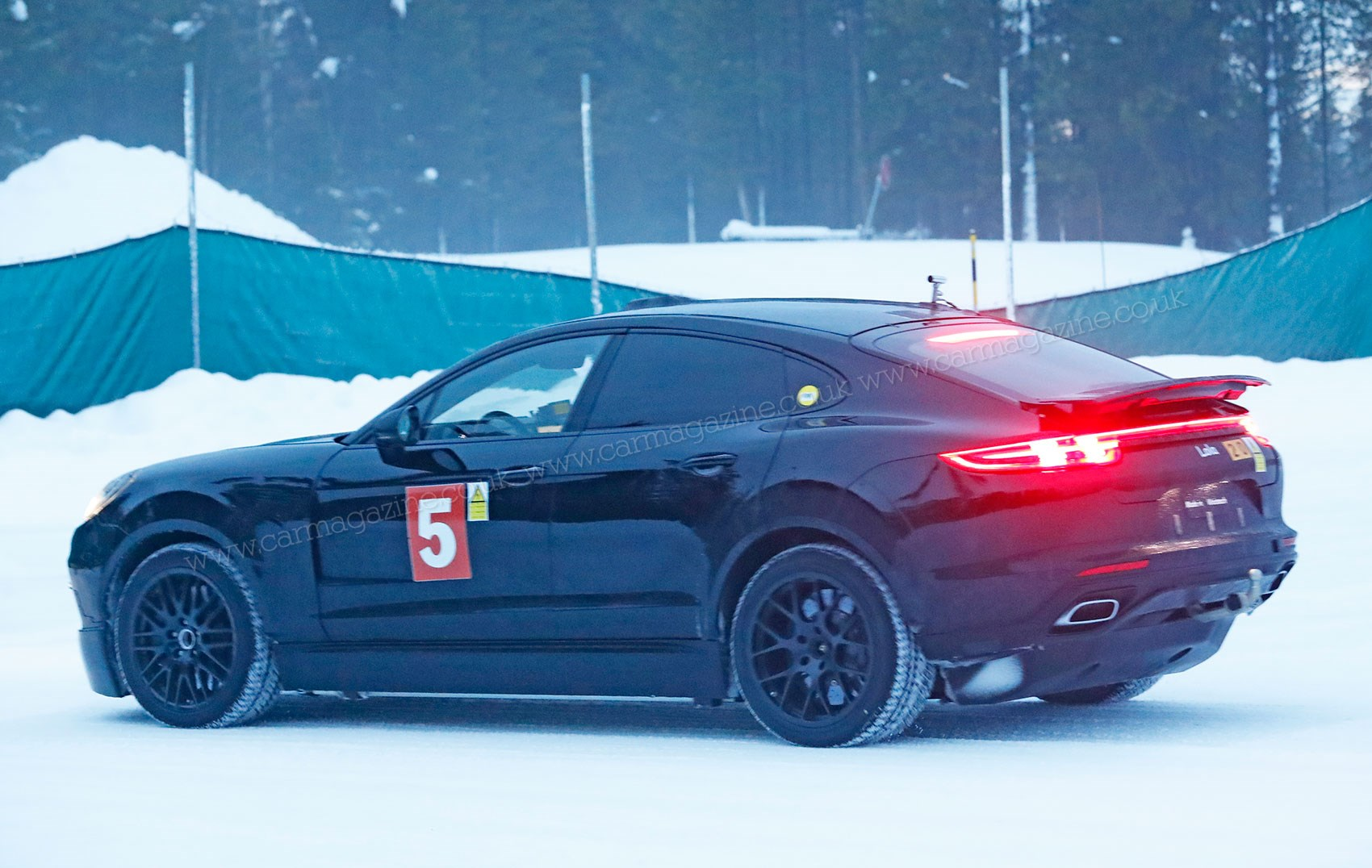 Porsche Cayenne Coupe Meet The Hunkered Down Electric Suv Car