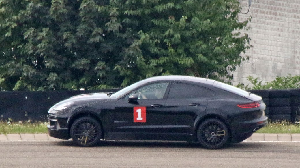 The Porsche Cayenne Coupe Spied By Car Magazine