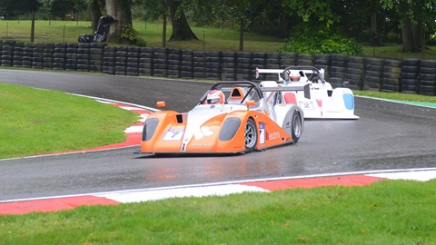 Kye Wheatley and James Taylor at Cadwell Park