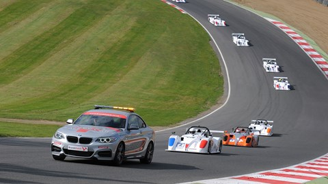 Safety cars can be a common occurrence in the SR1 Cup