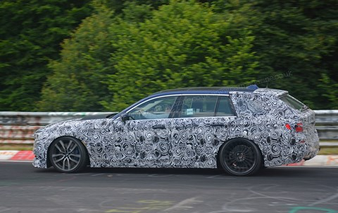 The new 2017 Alpina B5 Touring spied