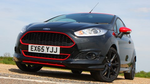 Ford Fiesta 1 0 Ecoboost 140ps ST Line Black Edition (2016