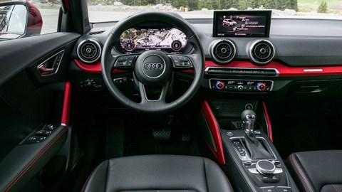 Audi Q2 cabin