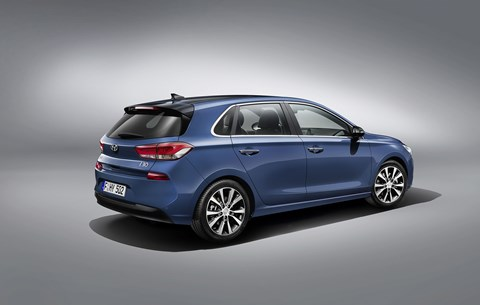 The new 2017 Hyundai i30