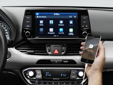 Now iPhone compatible: the new Hyundai i30