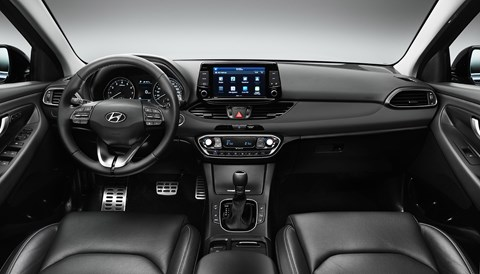 New Hyundai i30 cabin